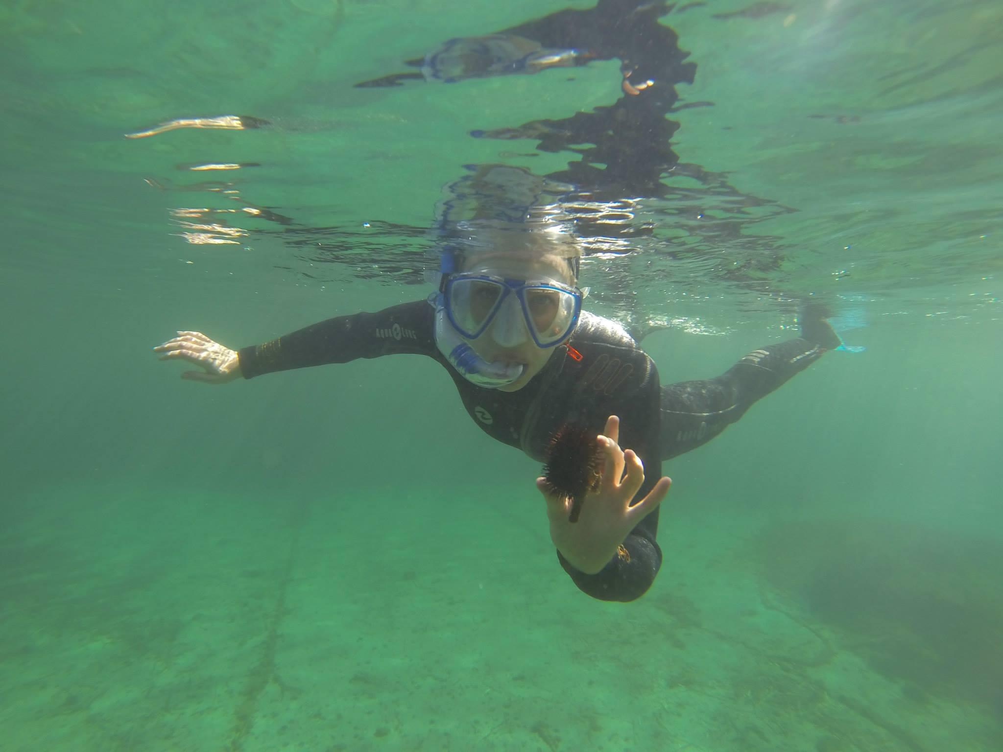 Randonnée subaquatique