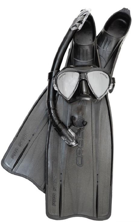 Palmes masque tuba